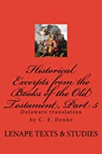 Historical Excerpts from the Books of the Old Testament, Part 5: Moses, Vol. 2