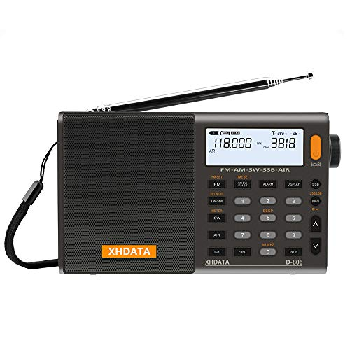 XHDATA D-808 Portable Digital Ra...