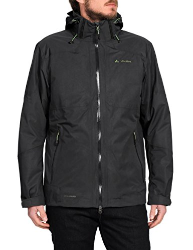 VAUDE Herren Doppeljacke Gald 3-in-1 Jacket, Black, L, 05722