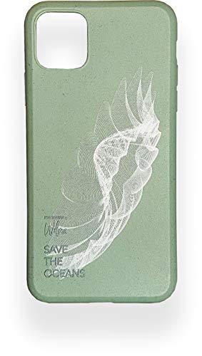 Wilma - Custodia protettiva biodegradabile per iPhone 11 Pro, per lo stop, in plastica, priva di plastica, protezione completa