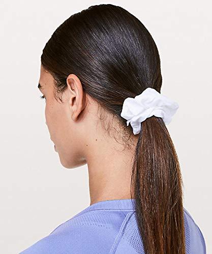 Lululemon White Uplifting Scrunchie