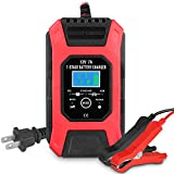 GEMWON GW358 12V/7A Automotive Battery Charger, 7-Stage Battery Maintainer &...