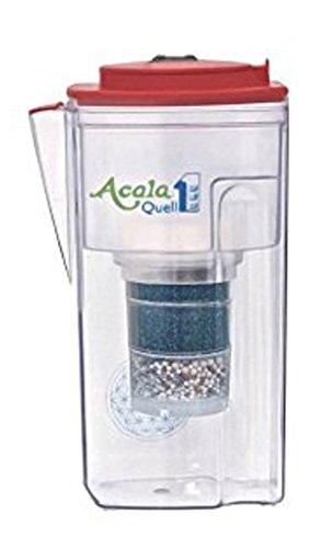 Wasserfilter AcalaQuell® One | Himbeere | Aktivkohle Wasserfilter | Höchste Filterleistung - mehrschichtig | BPA u. BPB frei | ReNaWa® - Technology | Kreiert köstlich schmeckendes, wohltuendes Wasser