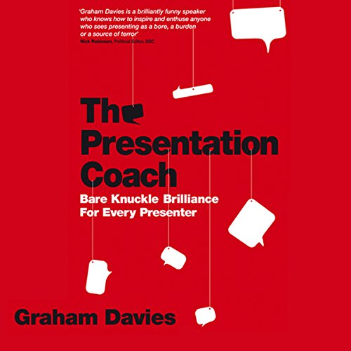 The Presentation Coach audiobook cover art