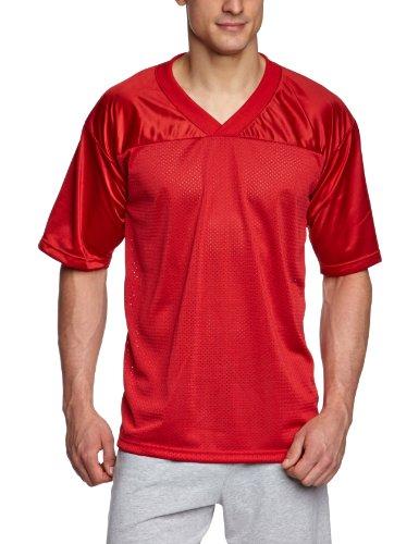 Full Force Erwachsene Football Shirt Flag SC, Rot, XL