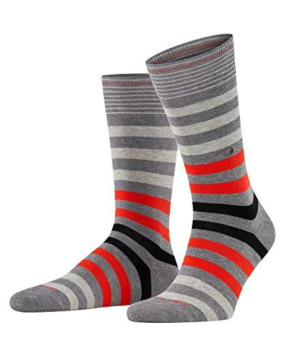 Burlington Herren Blackpool M Socken, Grau (Light Grey Mel. 3390), 40-46 EU
