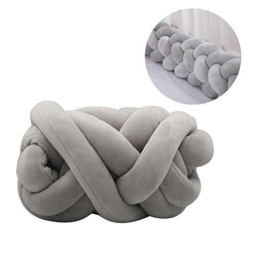 Wonderday 5 cm super dikke flanel doek garen, baby kribbe bumper gevlochten garen DIY kribbe omheining carpet kussen voor pasgeborenen slaap veiligheid, 8 m