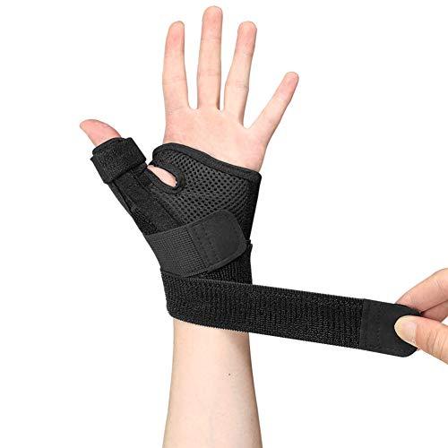 Inicio Handgelenkstütze Daumenverstauchung Bruchorthese Schiene Handgelenk Hand und Daumenstabilisator Wegfahrsperre Handgelenk Sehnenscheide Auslöser Daumenschutz