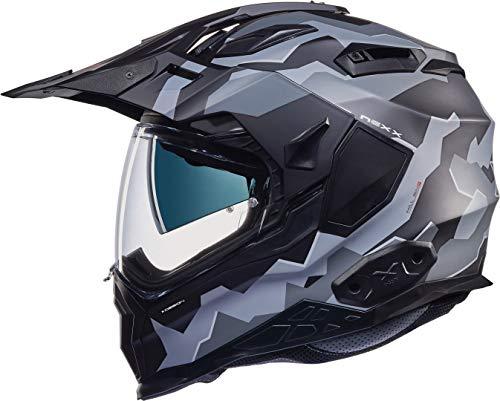 Nexx X.Wed 2 Hill End Country Helmet Casco Nero/Grigio