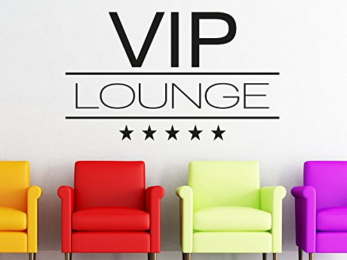 Klebeheld® Wandtattoo VIP Lounge No.1