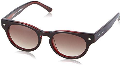 Schöne Marken Sonnenbrille für Damen von Carlo Monti mit 100% UV Schutz   Sonnenbrille mit stabiler Polycarbonatfassung, hochwertigem Brillenetui, Brillenbeutel und 2 Jahren Garantie   SCM202-272