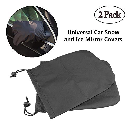 Transparent Sunnyflowk Universal 2pcs Car Rearview Mirror Waterproof Membrane Clear Anti-Glare Fog Film Car Bus Screen Protector