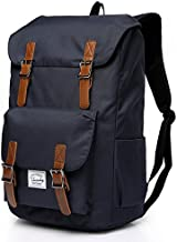 Vaschy Men Backpack Water-Resistant Hiking Daypack Travel School Backpack