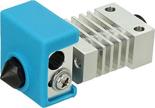 BROZZL All Metal Hot-End Kit de actualización para impresoras 3D Creality como CR-10, CR-10S, Ender 3, Ender 3 Pro, Ender 5, etc.