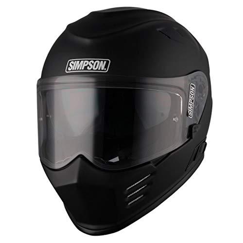 Simpson Venom - Casco de ciclismo (talla XS), color negro mate