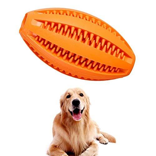 Lidylinashop Chiens Jouets Balles Jouets à Mâcher Chien Traiter Jouets Puzzle Chien Balle pour Medium Large Chiens Chien Boules Difficile Orange