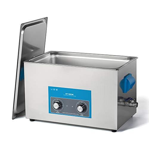 卓上型 超音波洗浄機 大型 業務用 レコード 超音波洗浄器 加熱 超音波 クリーナー 20l 400w 40khz スタンレス 機械操作 超音波 洗浄