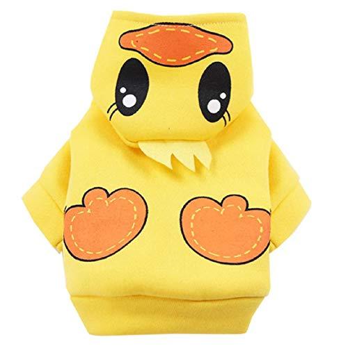 Koojawind Hundemantel Winter Hund Hoodie HundekostüM Hund Warme Hunde Pullover Warme Welpen Katzen Bekleidung T Shirts Jacken Haustier Bekleidung Sweatshirt