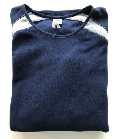 Russell Athletic Pull en Polaire Bleu Marine Taille L
