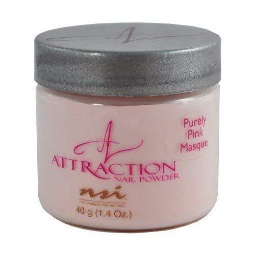 NSI Attraction Nail Powder, Purely Pink Masque Pink