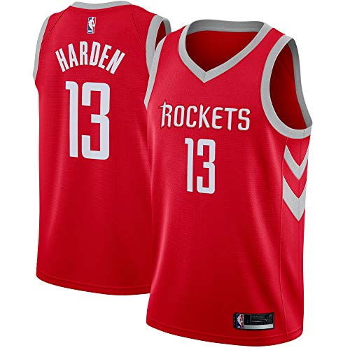 Outerstuff James Harden Houston Rockets #13 Red Youth Road Swingman Jersey (Medium 10/12)