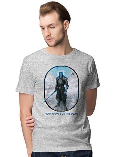 BLAK TEE Herren Watch Out for The Dead T-Shirt M