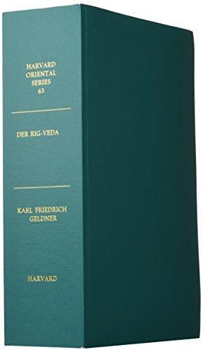 Der Rig-Veda: Aus dem Sanskrit ins Deutsche Ubersetzt und mit Cinem Laufenden Kommentar Verschen Von