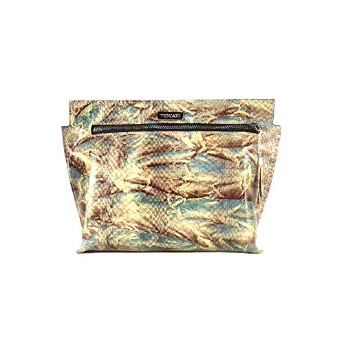Borsa Handtasche aus echtem exotischem Python-Leder (kein Druck)