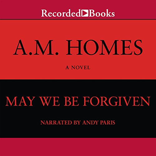 May We Be Forgiven audiobook cover art