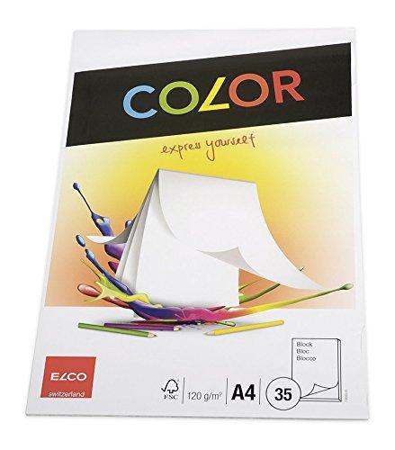 Elco Papier à dessin A4 210 x 297 mm Blanc