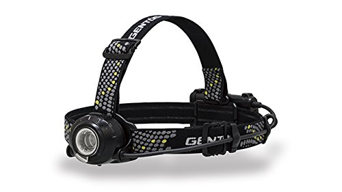 ジェントス 充電式 LEDヘッドライト 【500ルーメン/実用点灯6時間】HW-V533H