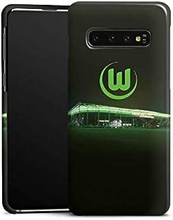 DeinDesign Premium Case kompatibel mit Samsung Galaxy S10 Smartphone Handyhülle Hülle glänzend Offizielles Lizenzprodukt VFL Wolfsburg Stadion