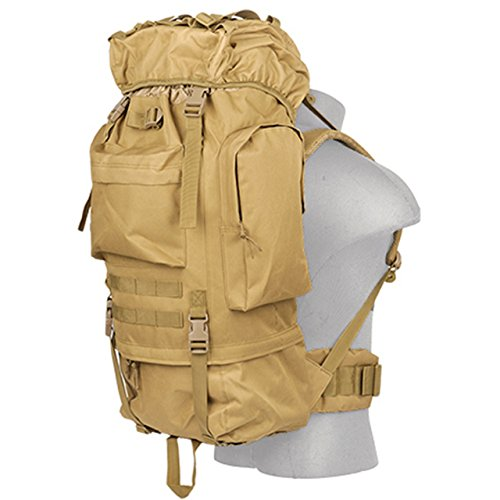 Lancer Tactical 600 Denier Polyester Lightweight Fabric Multi-Purpose Ruck Sack Waterproof Outdoor...