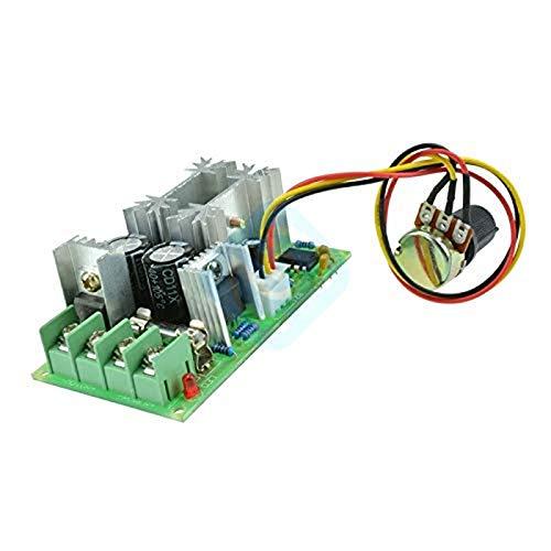 Gesh PWM Interruptor controlador de velocidad del motor 10-60V 20A regulador de voltaje de corriente