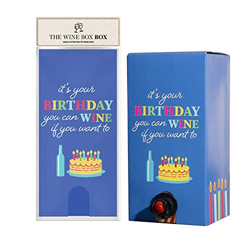 Wine If You Want Wine Box Cover, Cleverly-Designed Packaging for Boxed Wine, Cool Box Covers for All Occasions, Light, Portable, Decorative Box Cover – WineBox