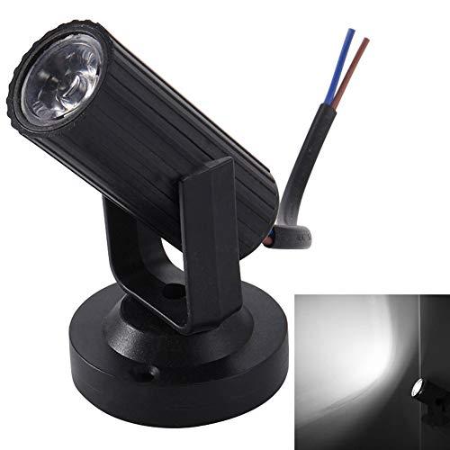 P12cheng RGB-Bühnenstrahler, RGB, LED, Disco-Balken, KTV, Party, Tanzclub, leicht, Weiß, Kunstharz, weiß, Black Shell