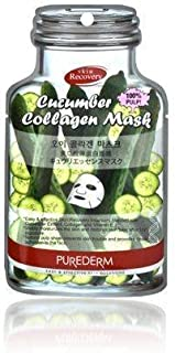 Purederm Cucumber Collagen Mask 1 Sheet