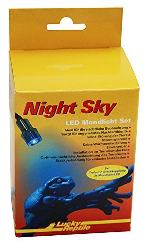 Lucky Reptile Night Sky LED - Mondlichtset, enthält Trafo und 3 LED