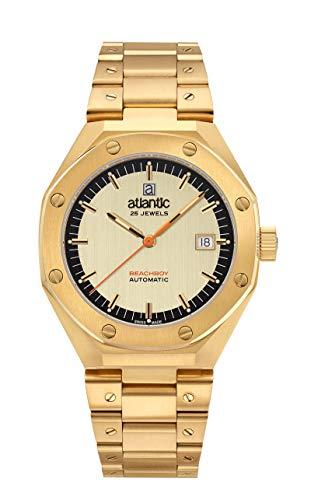 Atlantic - Reloj de pulsera analógico deportivo para hombre y mujer.