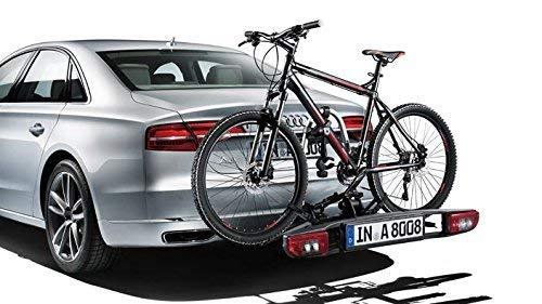 Audi Original Portabicicletas para Colgante vorrichtung Enganche de Remolque Portabicicletas Trasero Portador Plegable 4h0071105
