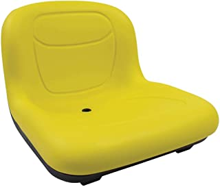 Stens - 420-182 High Back Seat, John Deere AM131531, ea, 1, Yellow