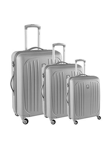 Delsey Set Di 3 trolleys Rigidi Hydre Argento