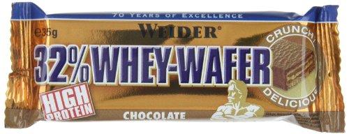 Weider 32% Whey Wafer, Cioccolato - Barretta da 35G