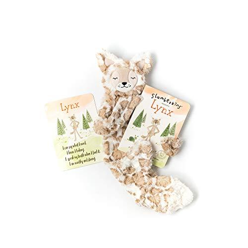 Slumberkins Lynx Snuggler & Book   Promote Self-Expression   Social Emotional Tools for Ages 0+