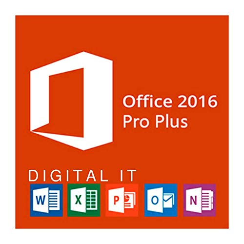 Office 2016 Professional Plus 32/64 bit | Licenza per 1PC ( solo per windows 7-8-10 ) | [Download] Consegna 1-24 ore via e-mail