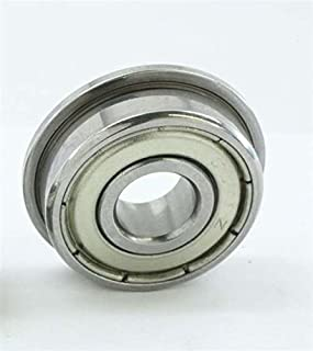 VXB Brand DDRF1450ZZ Flanged Bearing Shielded Stainless Steel 5x14x5 Bearings Type: Deep groove ball bearing Closures: Metal Shielded Dimensions: 5mm x 14mm x 5mm/Metric