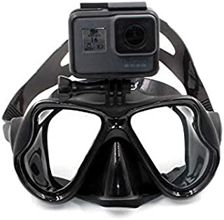 اقنعة فالنتاين للغوص جوبرو هيرو 4/3 3/2 مع كاميرا تعمل تحت الماء
