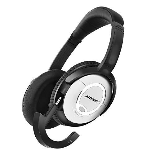 Tranesca Compatible Bluetooth Adapter Receiver for Bose quietcomfort 15 Headphone (Black)