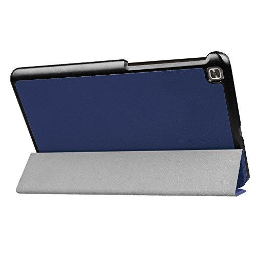 Kepuch Custer Hülle für LG G Pad IV 8.0 V533/X2 8.0,Smart PU-Leder Hüllen Schutzhülle Tasche Hülle Cover für LG G Pad IV 8.0 V533/X2 8.0 - Blau