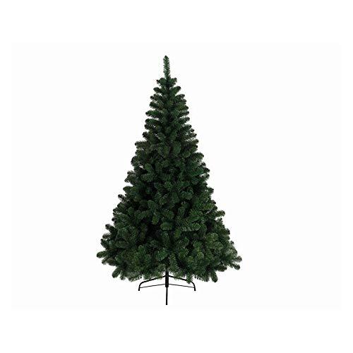 Kaemingk - Albero di Natale 'Imperial Pine', in PVC, 210 cm, colore: Verde